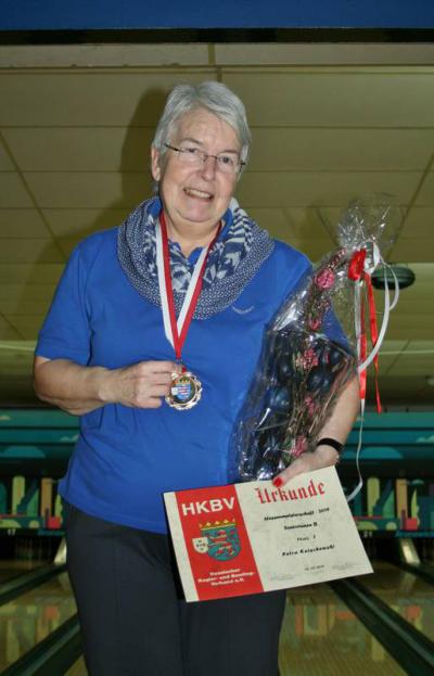 Hessenmeisterin Seniorinnen B: Petra Knischewski