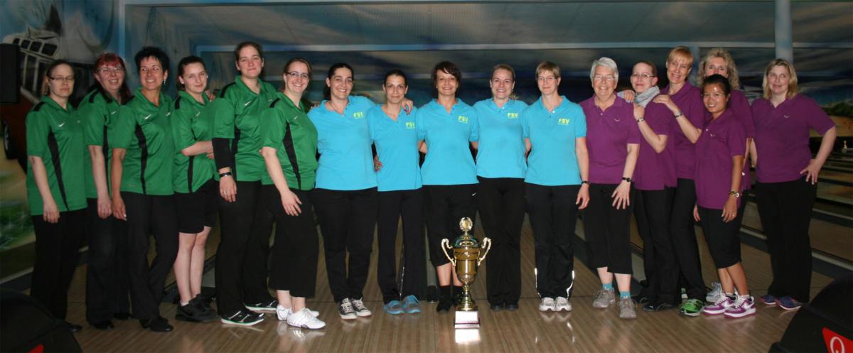 Damenteam 1 auf Platz 3