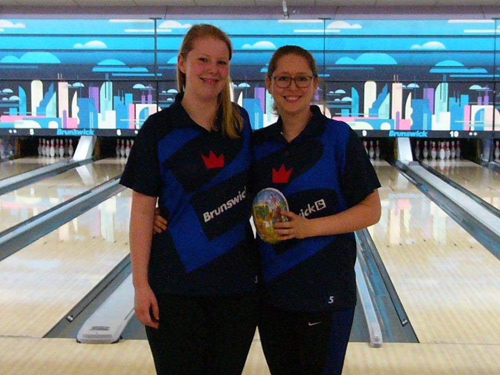 Siegerdoppel: Anna Heuckeroth und Vanessa Timter