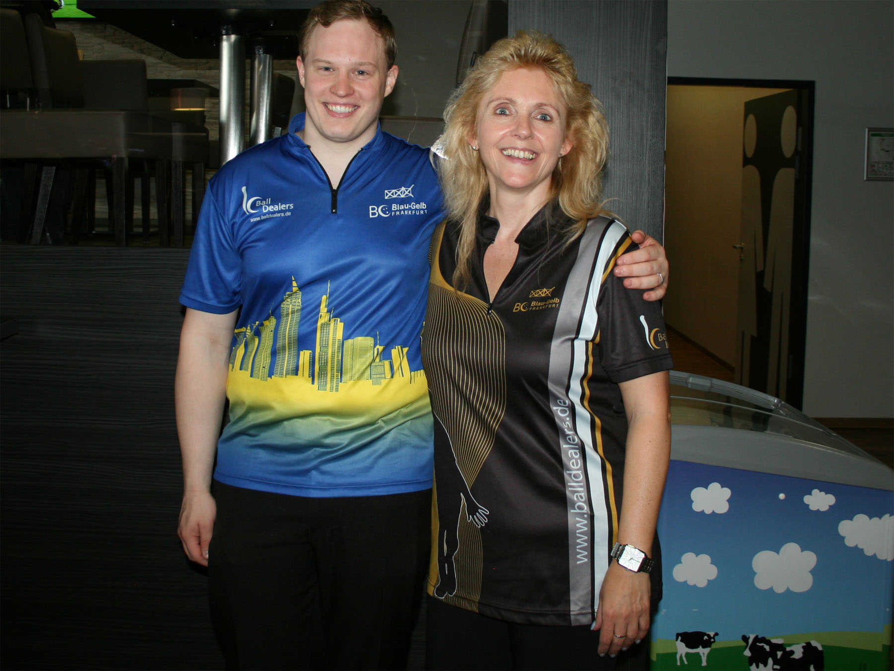 Vereinsmeister 2017: Petra Schmidt und Mike Mank