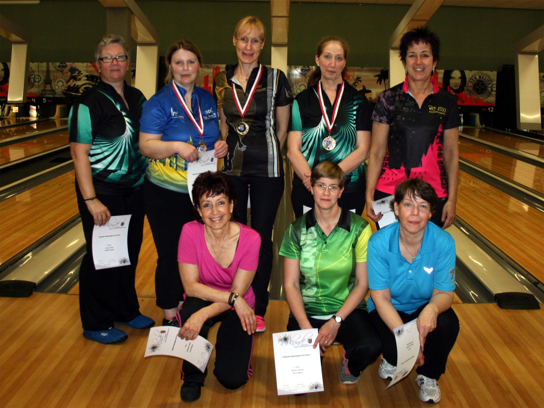 HM Damen Einzel - Finalistinnen
