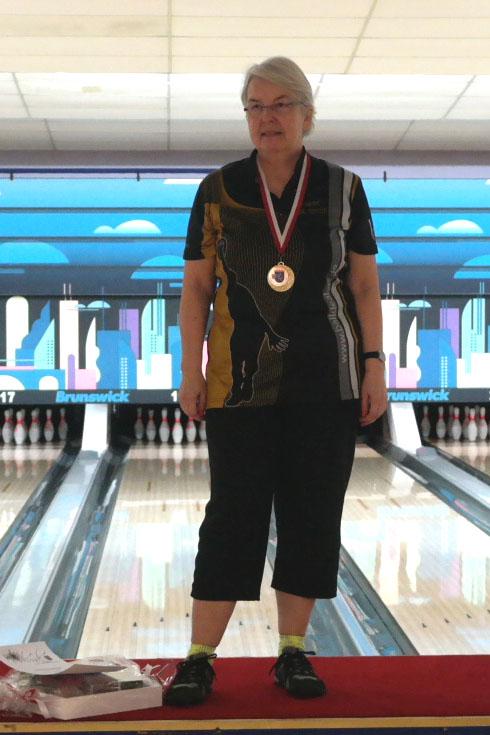 Hessenmeisterin Seniorinnen C - Petra Knischewski