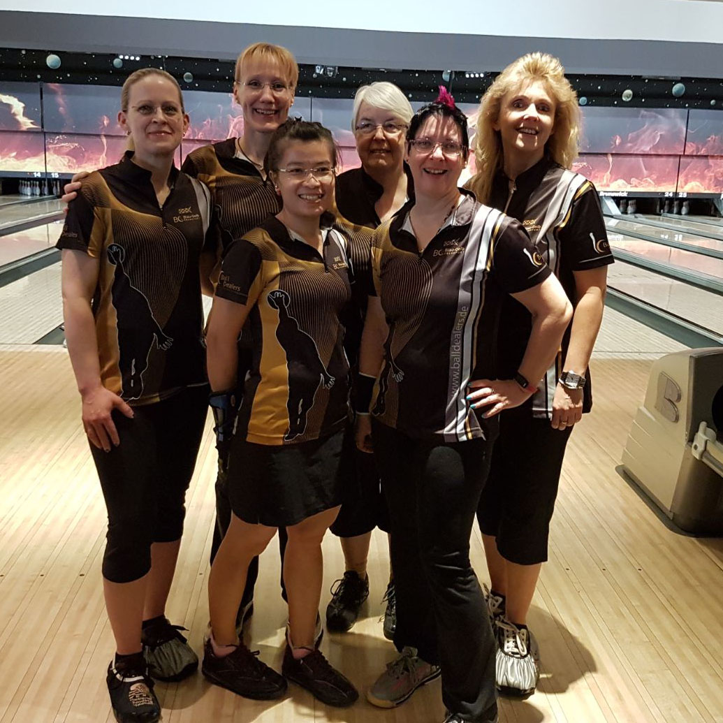 Damenteam in Ludwigshafen
