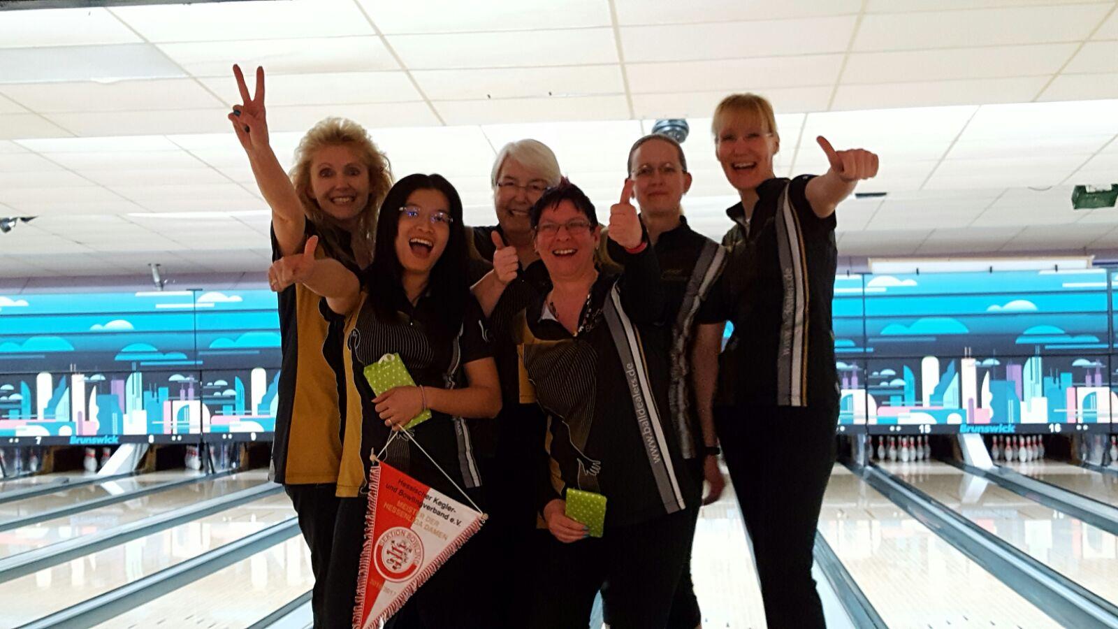 Damenteam 1 wurde Hessenmeister
