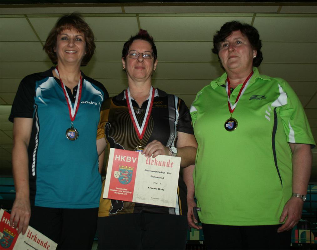 Platz 1-3 Seniorinnen A