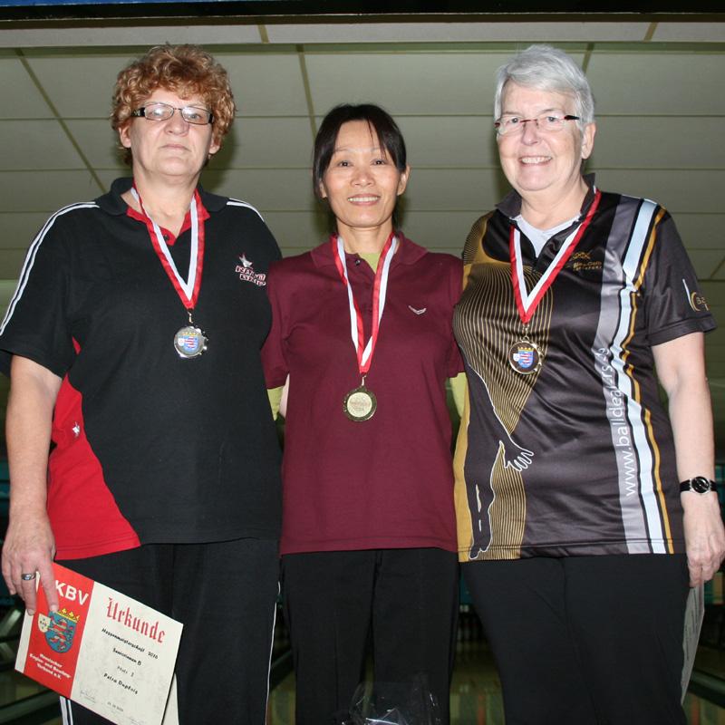 Platz 1-3 Seniorinnen B
