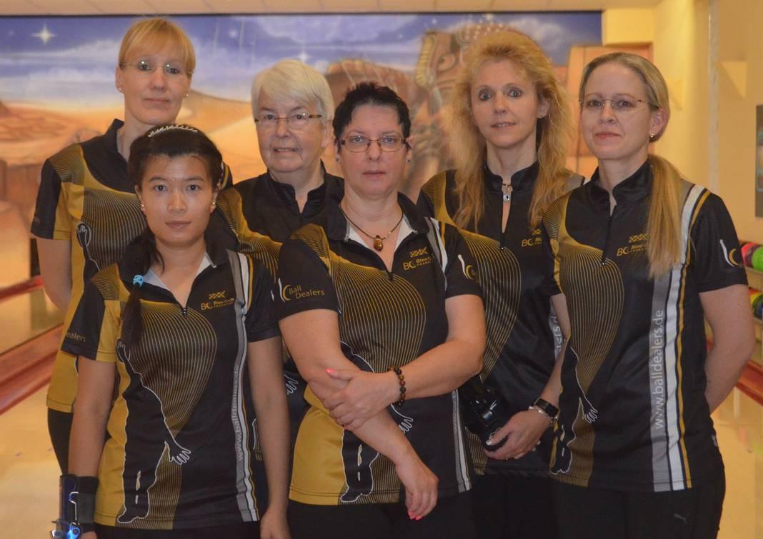 Damenteam bei der DM der Ländermannschaften
