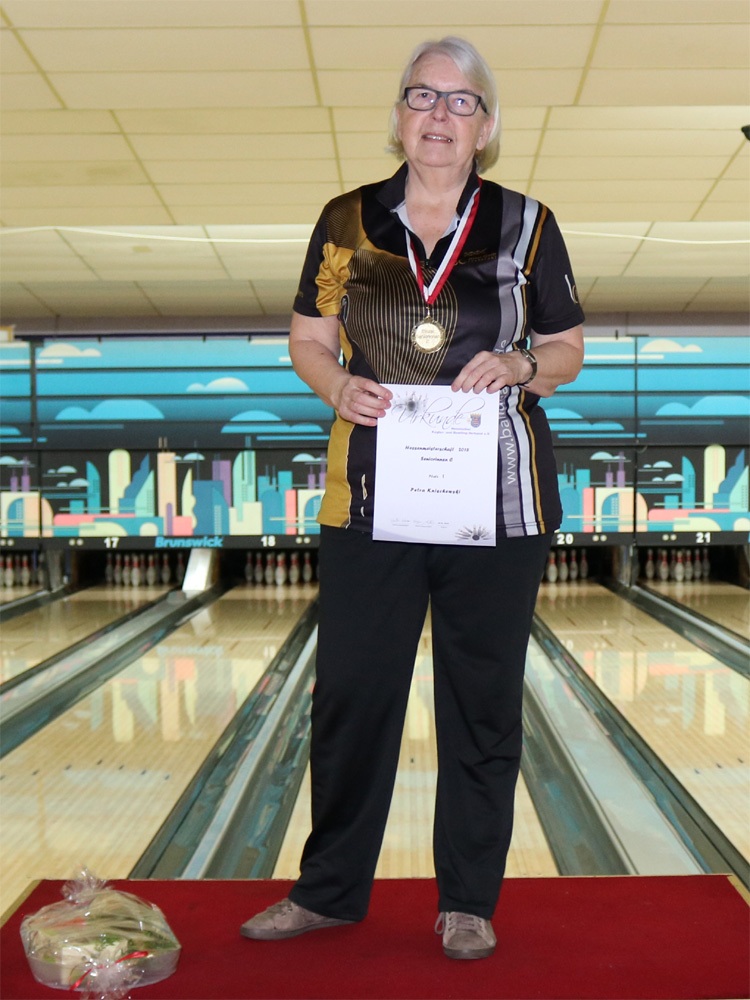 Petra Knischewski - Hessenmeisterin Seniorinnen C