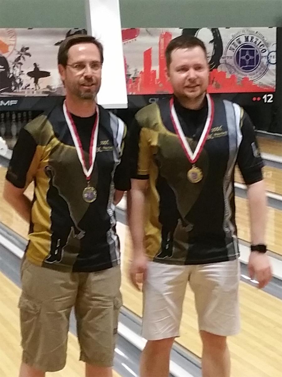 Hessenmeister im Doppel: Frank Heine und Karsten Aust