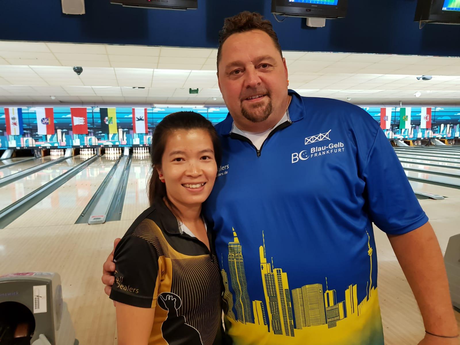 Vereinsmeister 2018: Kanittha Pohl und Thomas Scheibe
