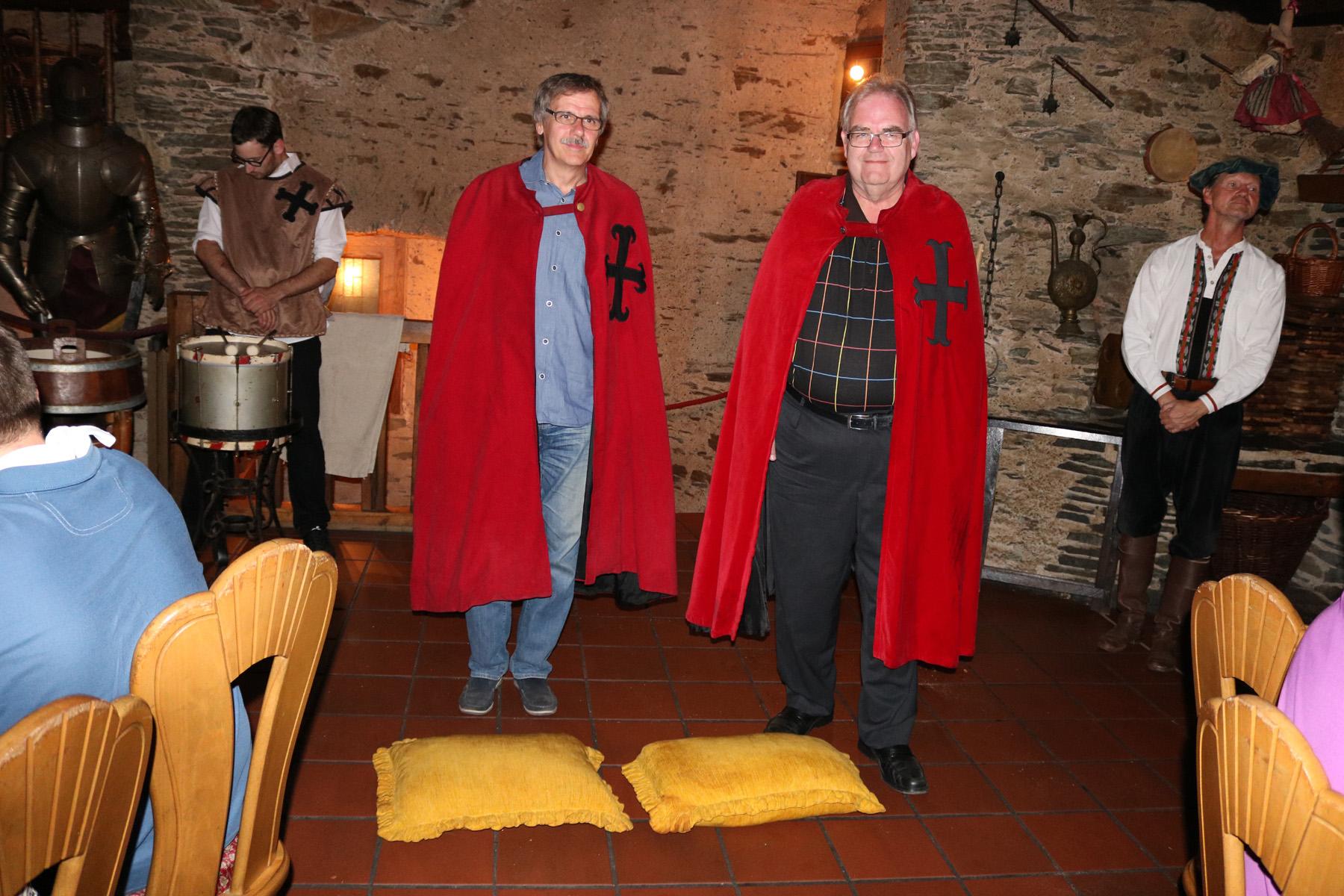 Ritter Klaus und Ritter Norbert