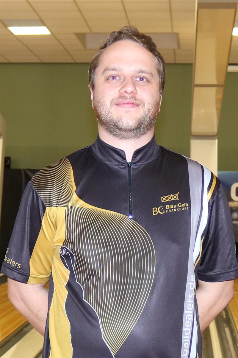 Philipp spielte im Halbfinale ein 300er Spiel