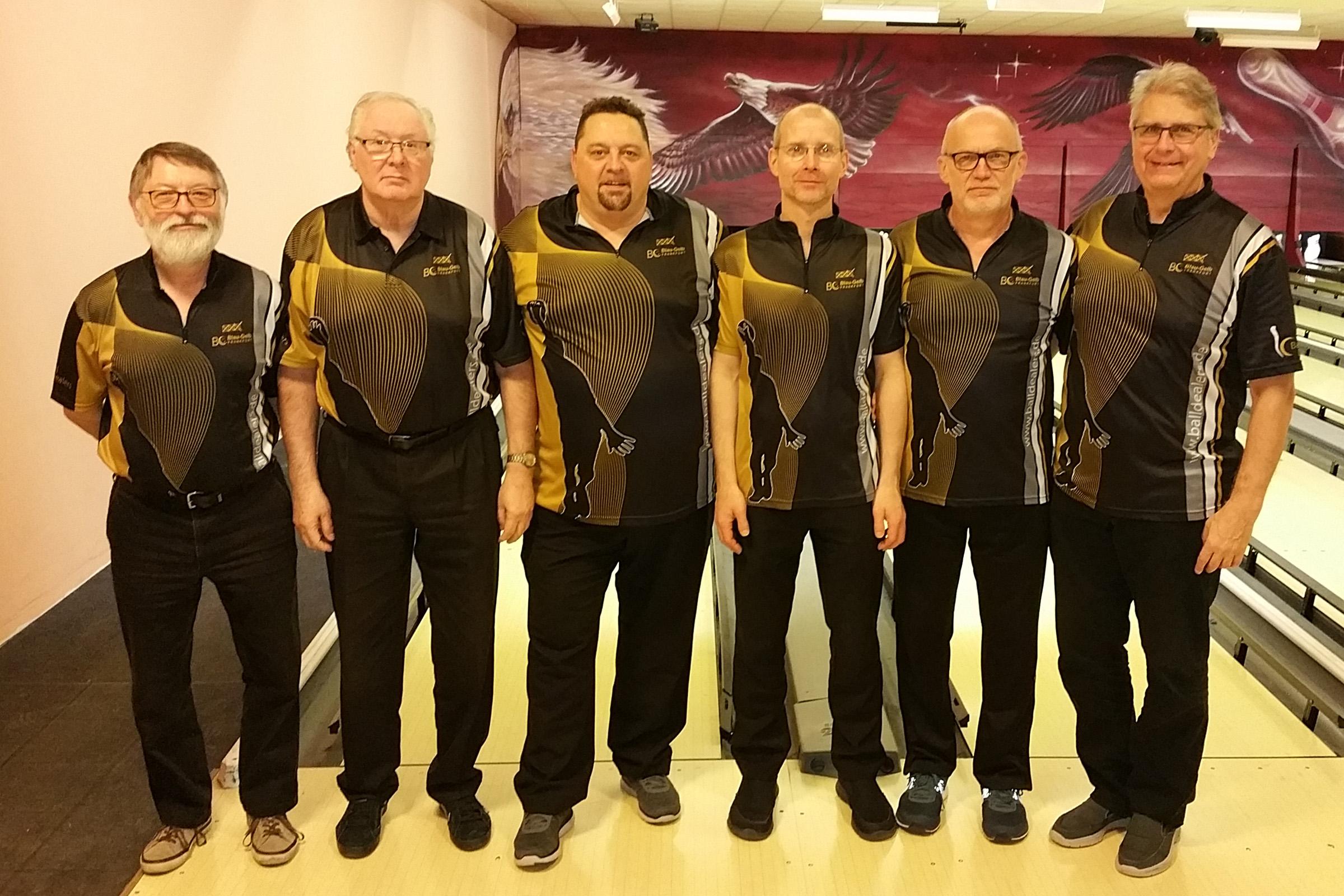 Team Herren 2: Kurt, Norbert, Thomas, Matthias, Rolf und Hans-Jürgen