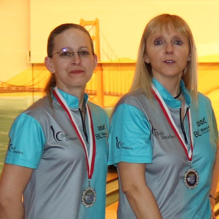 Damendoppel Platz 2: Conny und Petra