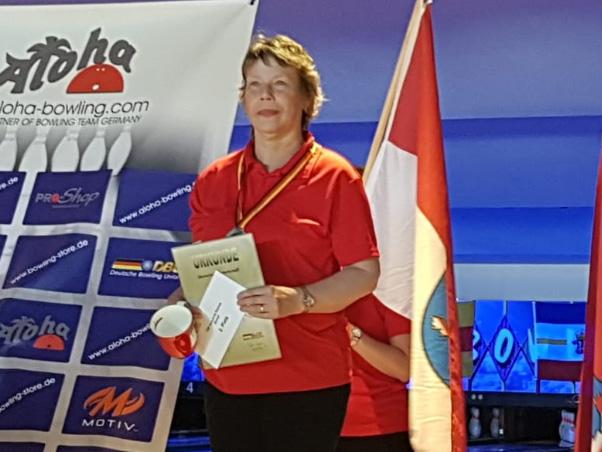 Deutsche Vize Meisterin Versehrte Einzel: Gabi Baumann