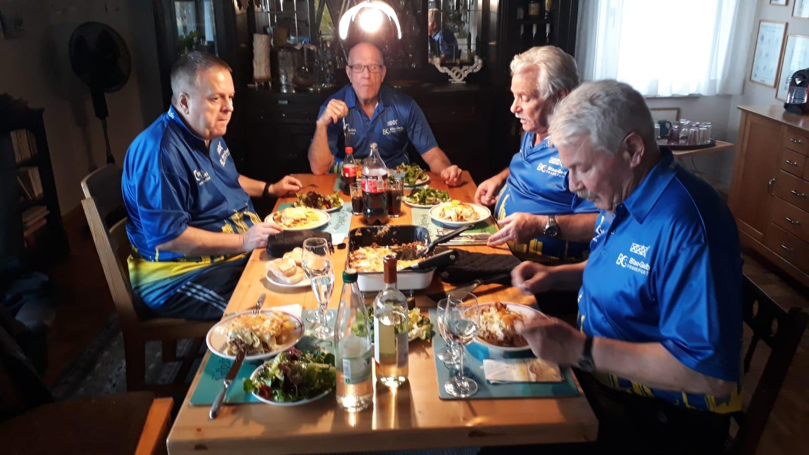 4. Ligastart - Essen bei Volker