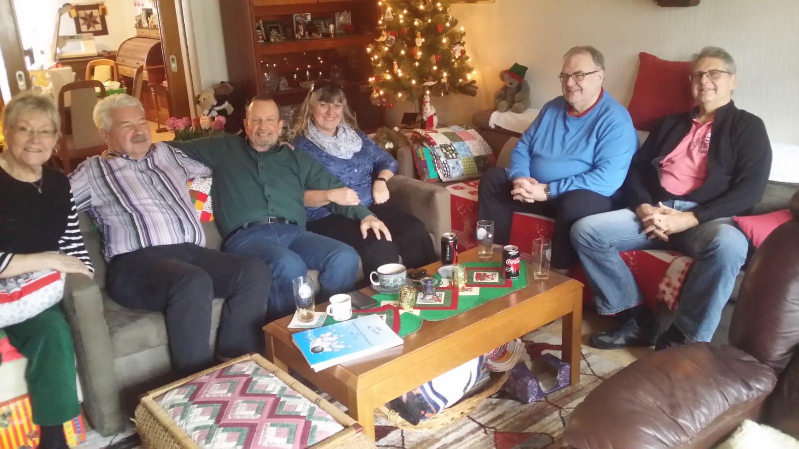 Larry Eccles mit Frau Sylvia zu Besuch bei Vern
