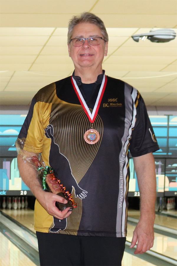 Platz 3 Senioren B: Hans-Jürgen Naumann